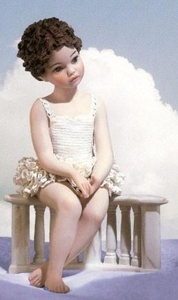 Фарфоровая статуэтка «Линда»