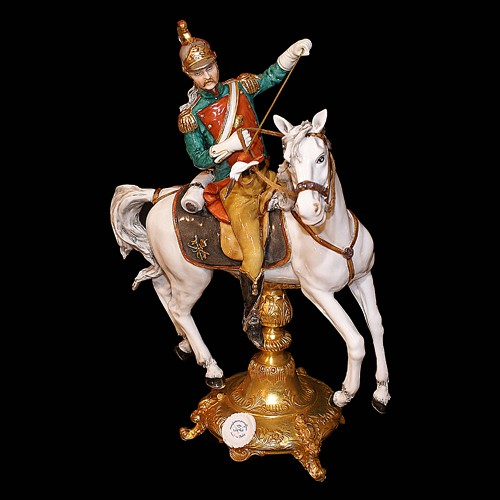 "Скульптура ""Улан на белом коне"""