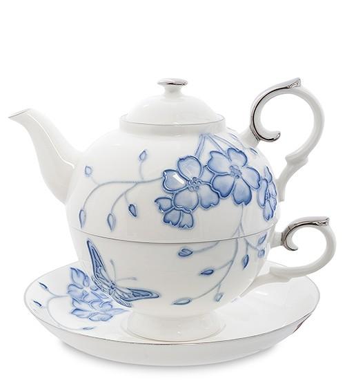 Чайный набор «Голубая бабочка»
