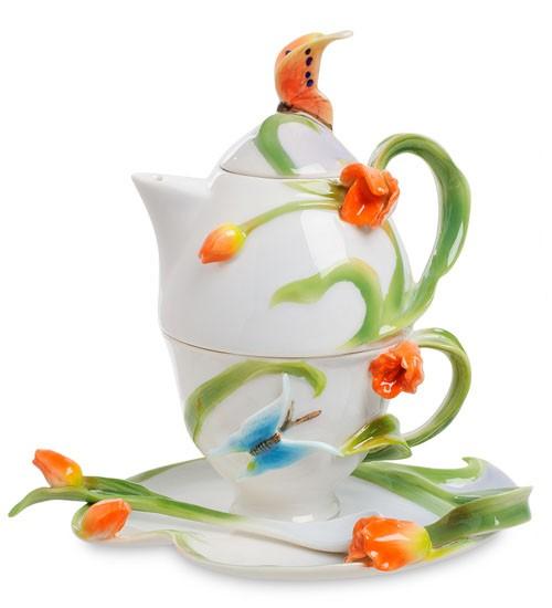 Чайный набор «Тюльпаны»
