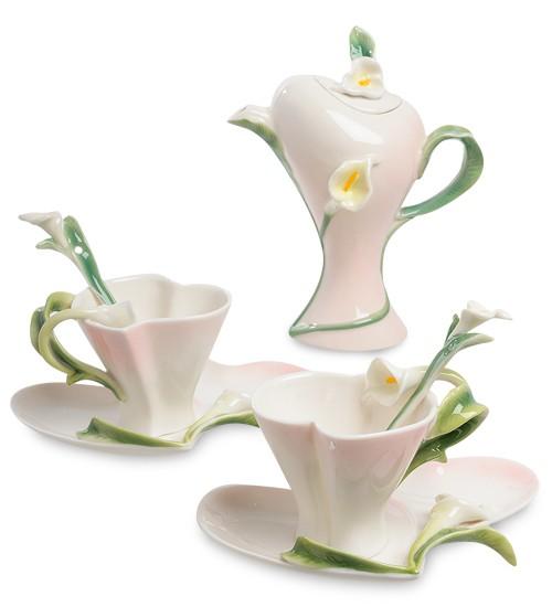 Чайный набор «Каллы» на 2 персоны