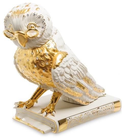 Фарфоровая статуэтка «Мудрая сова»