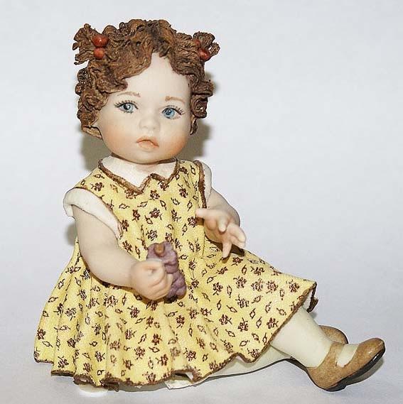Фарфоровая кукла «Vanessa»