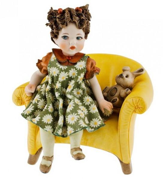 Фарфоровая кукла «Carolina»