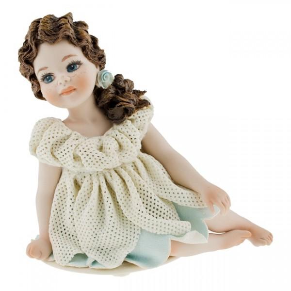 Фарфоровая кукла «Fiammetta»
