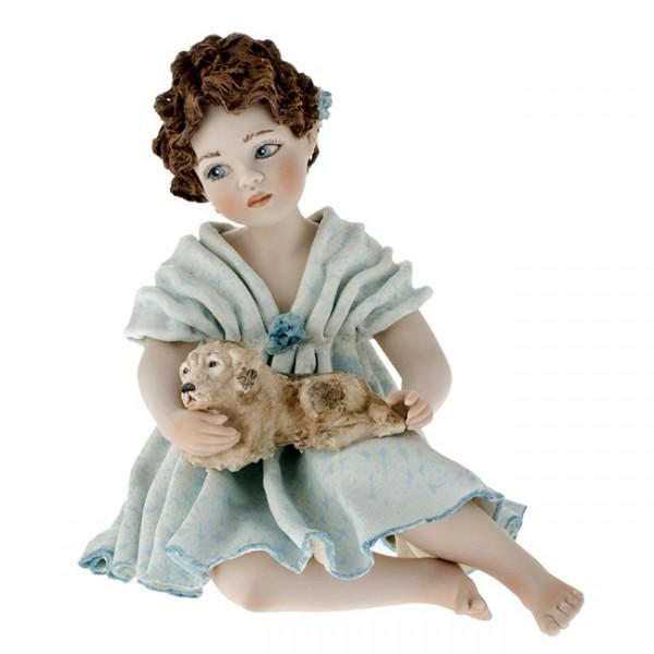 Фарфоровая кукла «Laila» Sibania