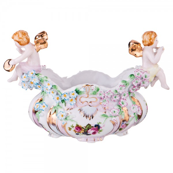 Ваза для конфет и фруктов «Ангелочки»