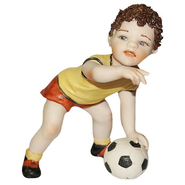 Фарфоровая кукла «Футболист»