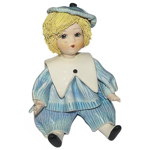 """Статуэтка """"Кукла - мальчик"""""""