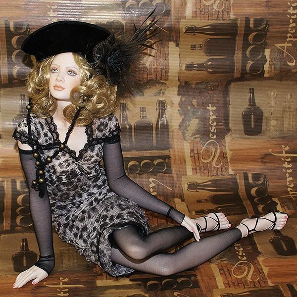 Кукла фарфоровая «Антониа»