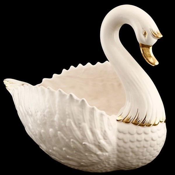 Чаша декоративная «Лебедь»