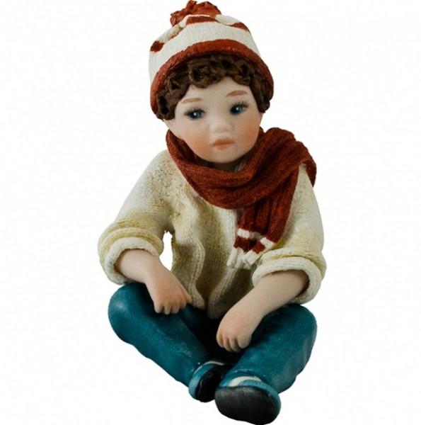 Фарфоровая статуэтка «Luca»