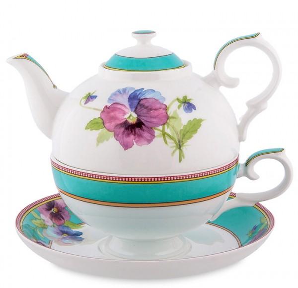 Чайный набор на одну персону «Васельки»