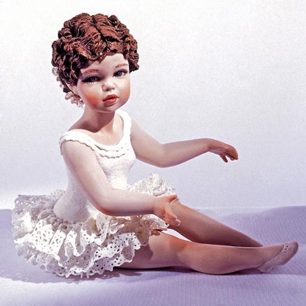 Фарфоровая кукла «Каролина»