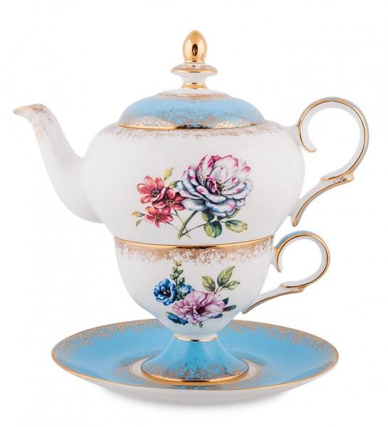Чайный набор на одну персону «Цветок Неаполя»