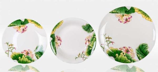 Набор тарелок «Нимфея»