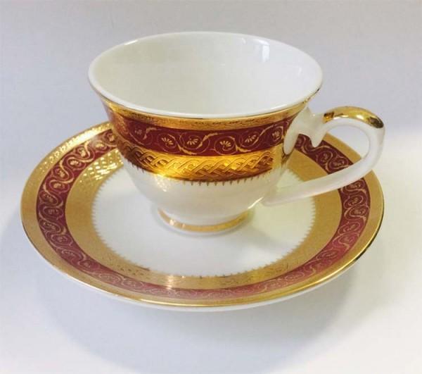 Кофейный набор «Королевский Рубин»