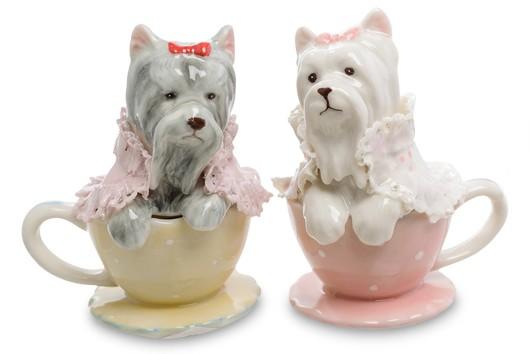 Сувенирный набор соль/перец «Собачки»